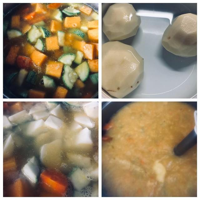 crema de verdura 3 collage