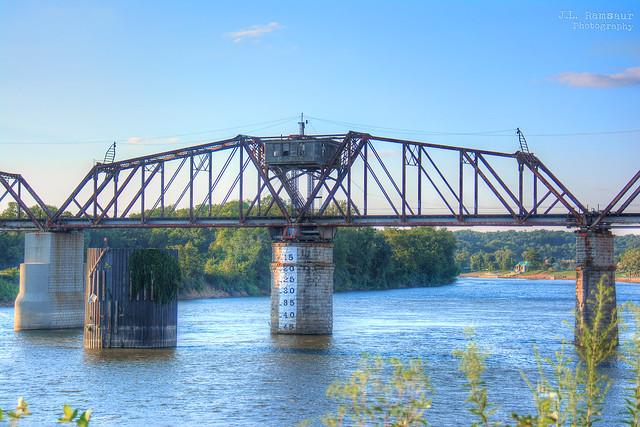 L&N Railroad Turn Bridge - Clarksville, Tennessee