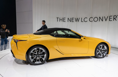 2020 Lexus LC500 Convertible, right side Photo