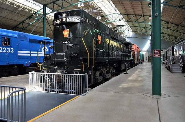 Pennsylvania Railroad No. 4465 (E44), Pennsylvania, Strasburg, Railroad Museum of Pennsylvania