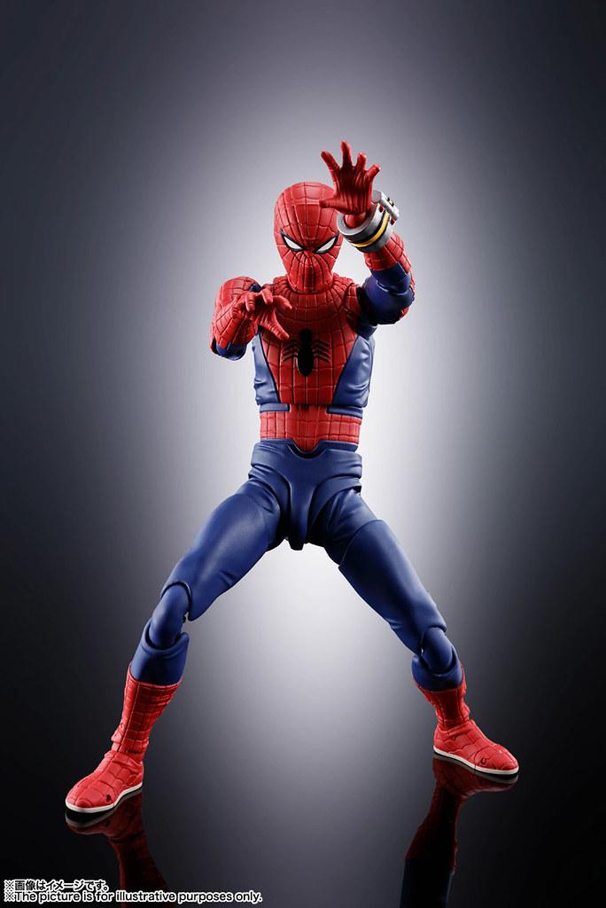 S.H.Figuarts「東映蜘蛛人」1/12 比例可動人偶 懷舊登場! スパイダーマン(「スパイダーマン」東映TVシリーズ)