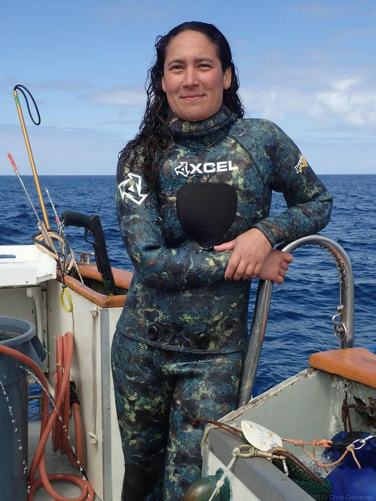 Tina, Deckhand Aboard the Peace Dive Boat   Olympus TG12   Flickr