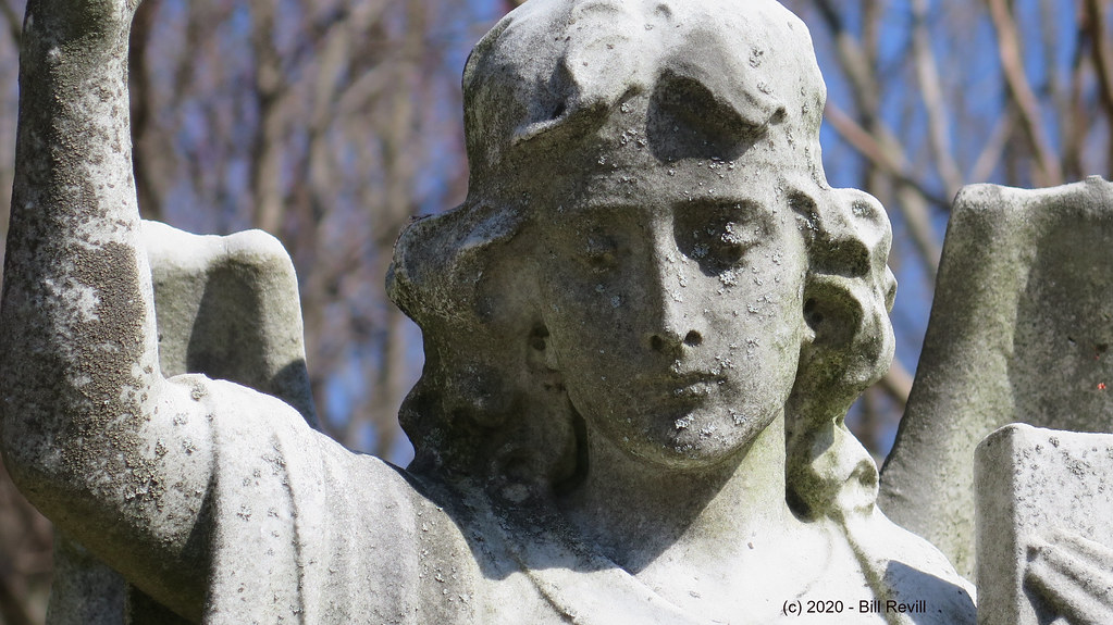 Indian Hill cemetery angel