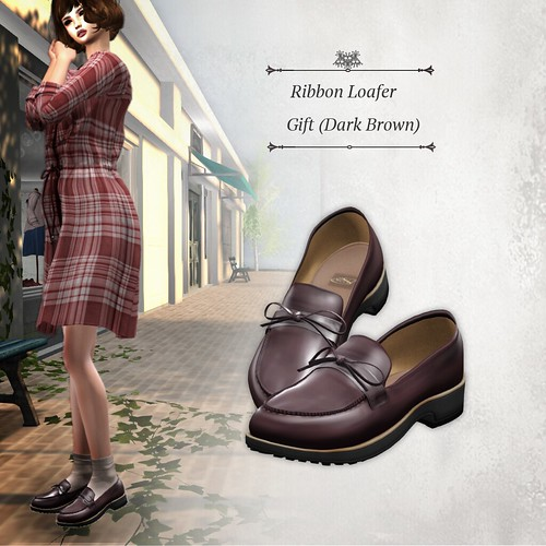 Ribbon Loafers Dark Brown (Group Gift)