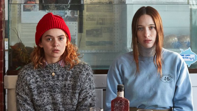 Actress Morgan Saylor and Sophie Lowe