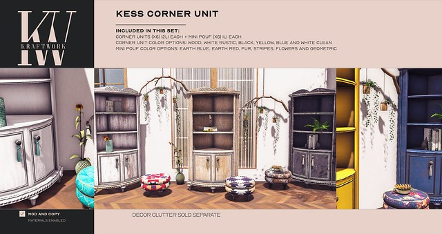 KraftWork Kess Corner Unit