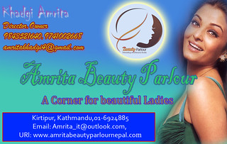 Visiting Card by Amrita