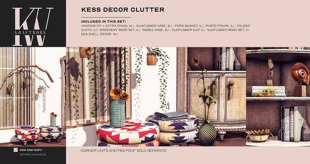 KraftWork Kess Decor Clutter