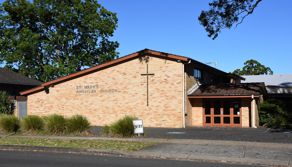 St Marks Anglican Church, Berowra, Sydney, NSW.
