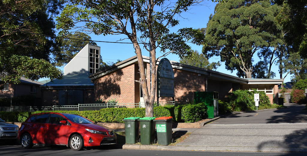St John's Anglican Church, Asquith, Sydney, NSW.