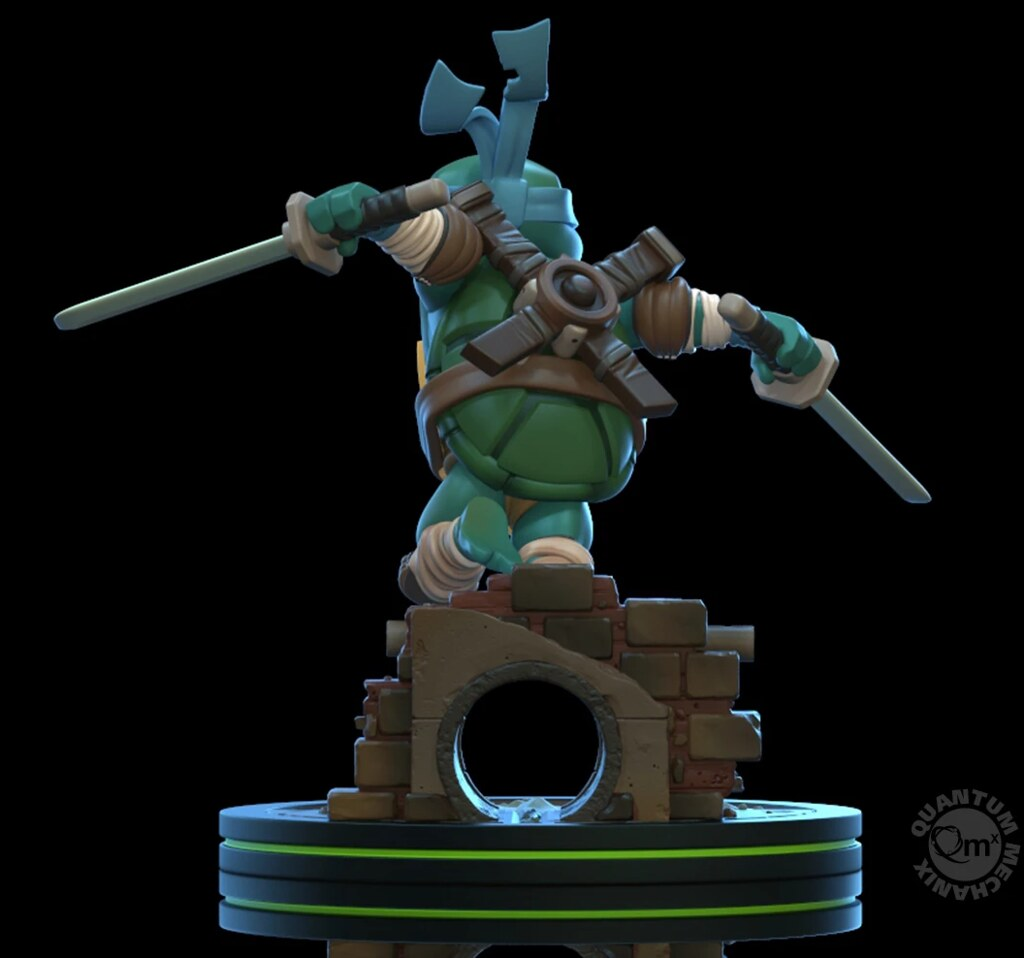Quantum Mechanix Q-Fig 系列《忍者龜》忍者龜四兄弟 參戰! Teenage Mutant Ninja Turtles Q-Fig
