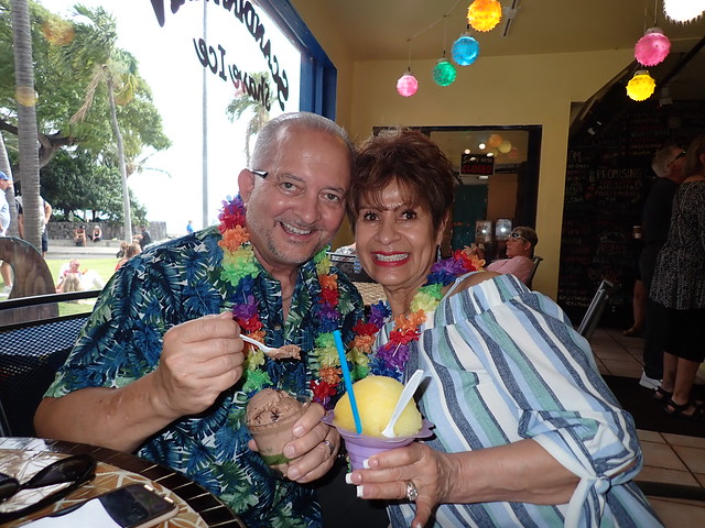 At Scandinavian Shave Ice
