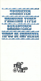 SCHRIFTEN / PRINTING TYPES / CARACTERES / TIPOS DE IMPRENTA