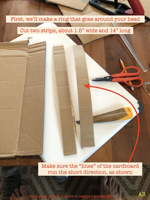 1 cut out strips