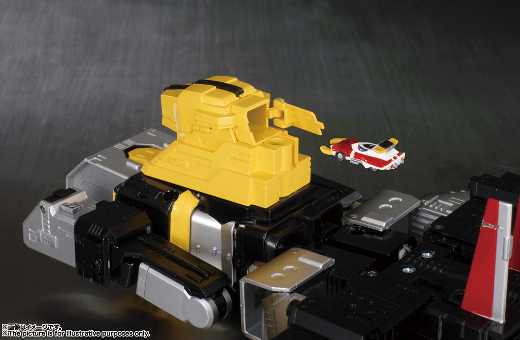 附上 1:1 比例的變身手環!! 超合金魂 GX-33R《蜘蛛人 (東映)》獵豹金剛&宇宙戰鬥艦 Marveller 召喚套組 レオパルドン&マーベラー召喚セット