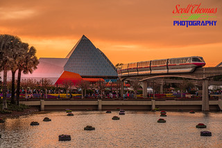 Monorail Sunset | by Scott Thomas Photography