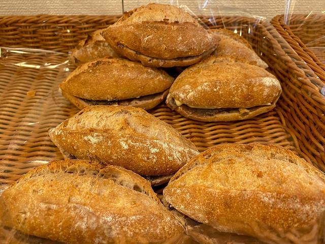 An-pan (bean paste bread)