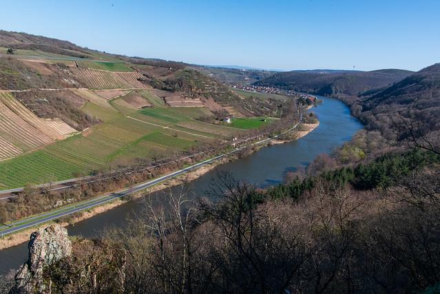 Die Nahe bei Niederhausen / The River Nahe near Niederhausen