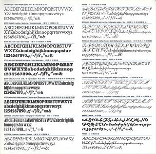 Beton, Corvinus, Hyperion, Adagio, Bernhard, Legende, Lithographia, Maxime, Privat