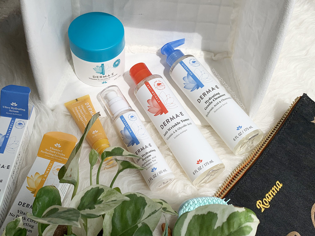 Clean skincare with Derma E: Review