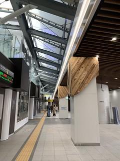 千駄ヶ谷駅 新宿方面専用ホーム供用開始