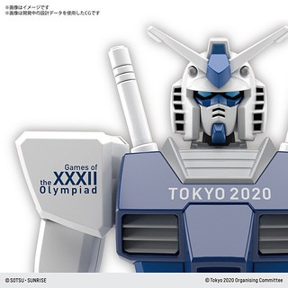 2020 東京奧運 / 帕運 限定配色! HG 1/144《機動戰士鋼彈》RX-78-2 鋼彈 & HAROPLA 哈囉 組裝模型(TOKYO 2020 OLYMPIC / PARALYMPIC EMBLEM)