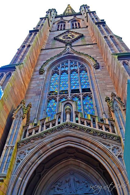 Trinity Church Broadway Wall St Financial District Manhattan New York City NY P00475 DSC_1255