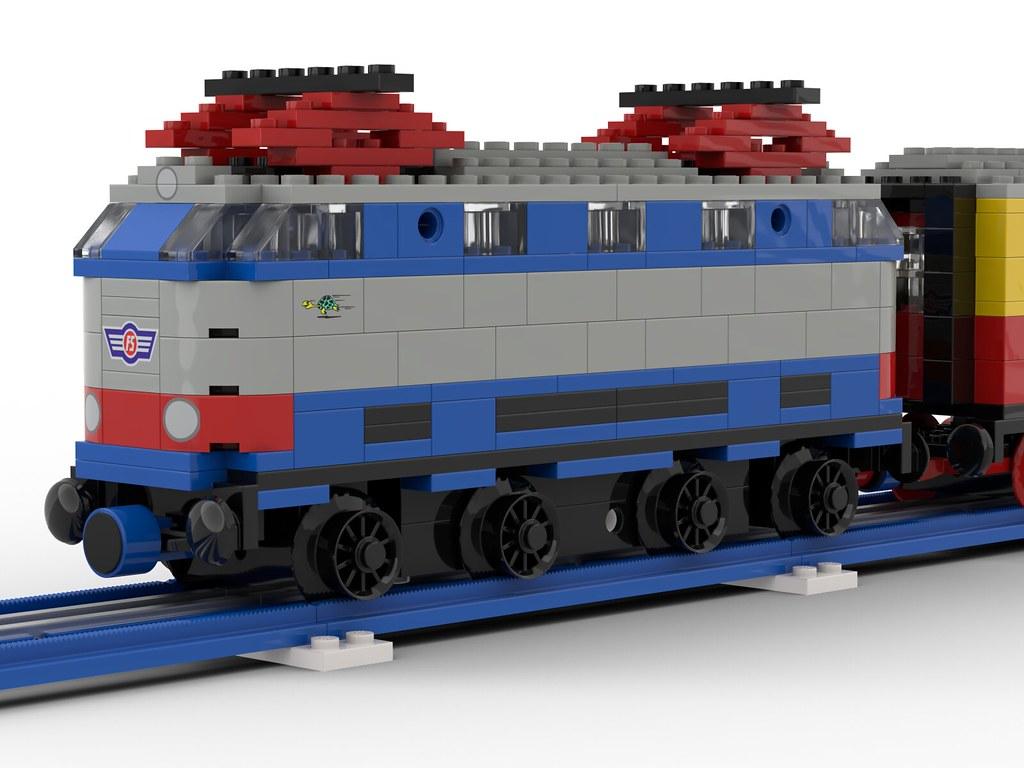 LEGO FS E444 12V - Blue Era Style
