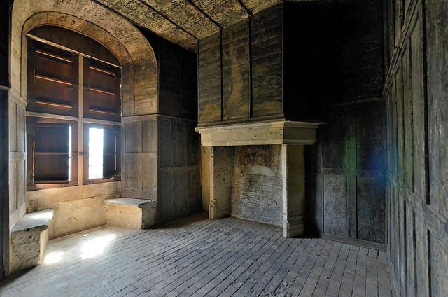 Châteaudun (Eure-et-Loir) - Le château - Aile Dunois - Chambre