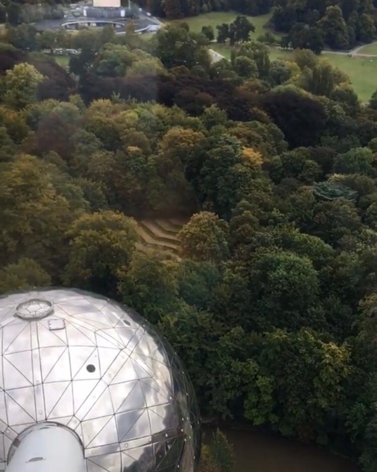 Vistas desde Atomium