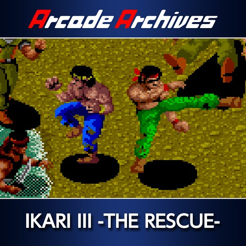Thumbnail of Arcade Archives IKARI III -THE RESCUE- on PS4