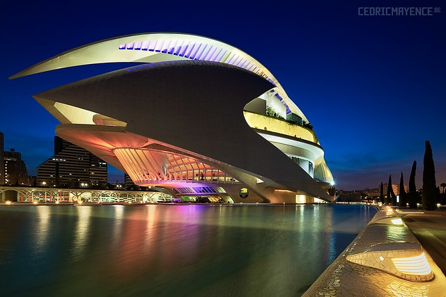 Valencia - City of Arts and Sciences - Spain