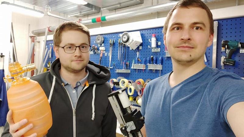 RTU Dizaina fabrikā rada prototipu automatizētam plaušu ventilatoram