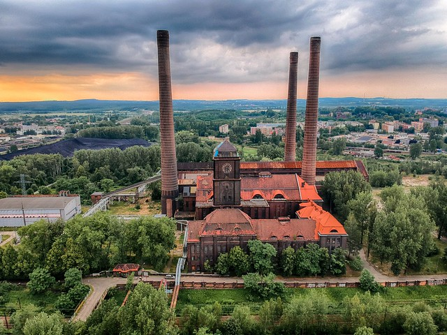 Szombierki Power Plant, Bytom, POLAND