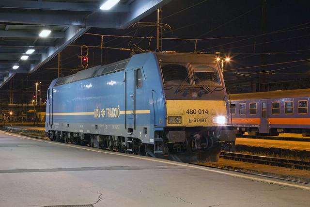 MÁV 480 014 Budapest Keleti