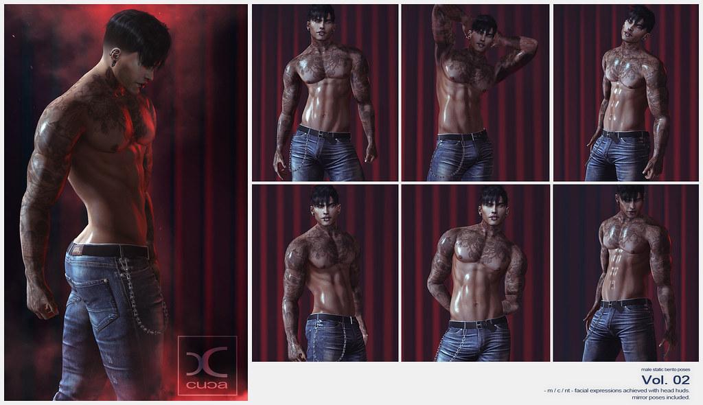 Male Static Bento Poses Vol02 @ Flourish!