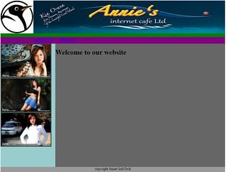 Web page by Prajwal