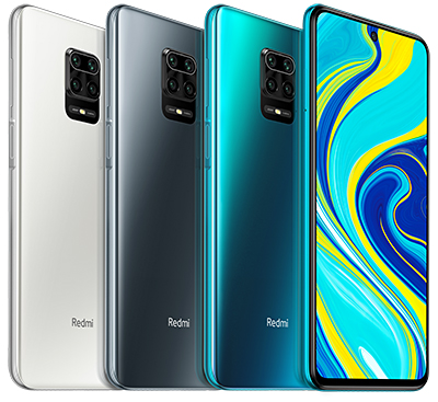The Redmi Note 9S will be available in three colours - Interstellar Grey , Aurora Blue and Glacier White.