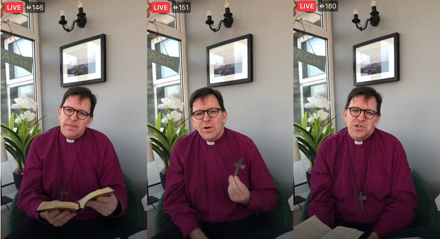 Jesus knows what isolation is all about - Bishop Andrew Forster