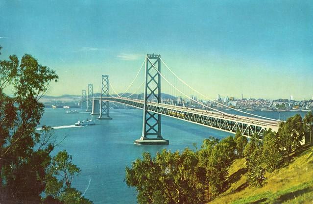 USA - California - (San Francisco - Oakland Bay Bridge)