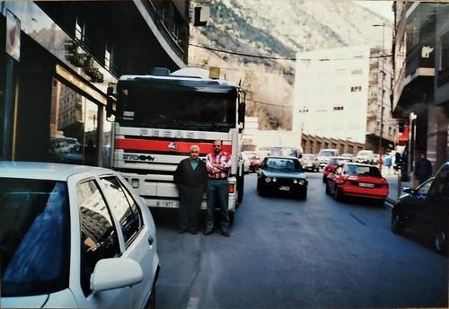 Toni Tomàs i Toni Vendrell a Andorra