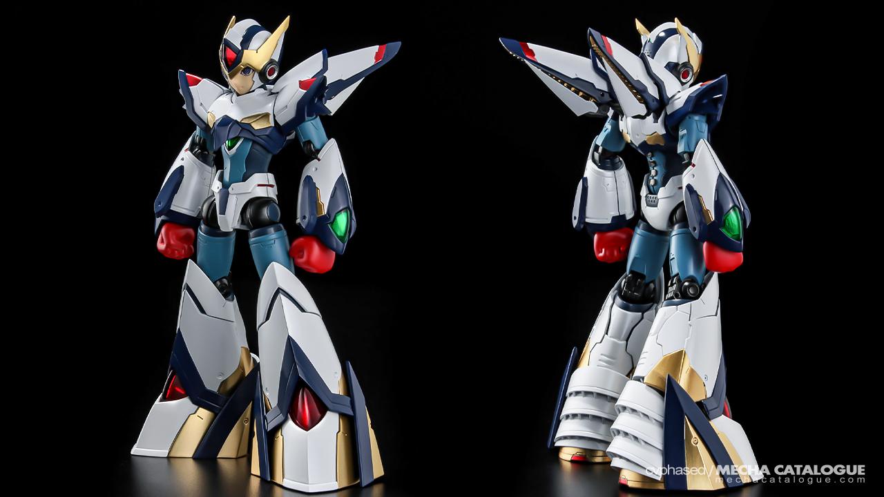 Crazy Huge Boots! RIOBOT Rockman X Falcon Armor (ver. Eiichi Shimizu)