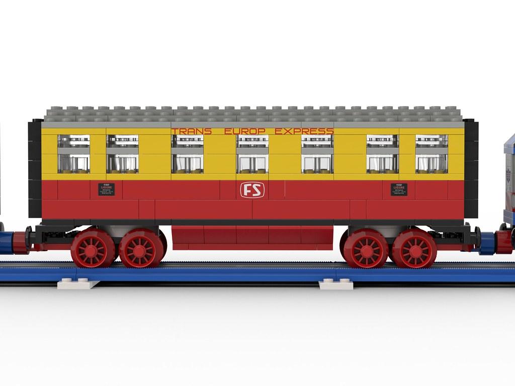 "FS E444 12V - Blue Era - TEE ""Ligure"" wagon"