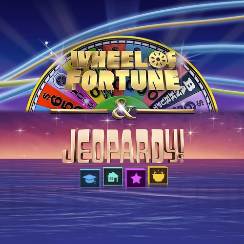 Thumbnail of WHEEL OF FORTUNE + JEOPARDY on PS4