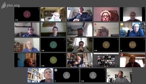 Videoconferencia Múltiple de organizaciones de voluntarios jubilados de Bizkaia