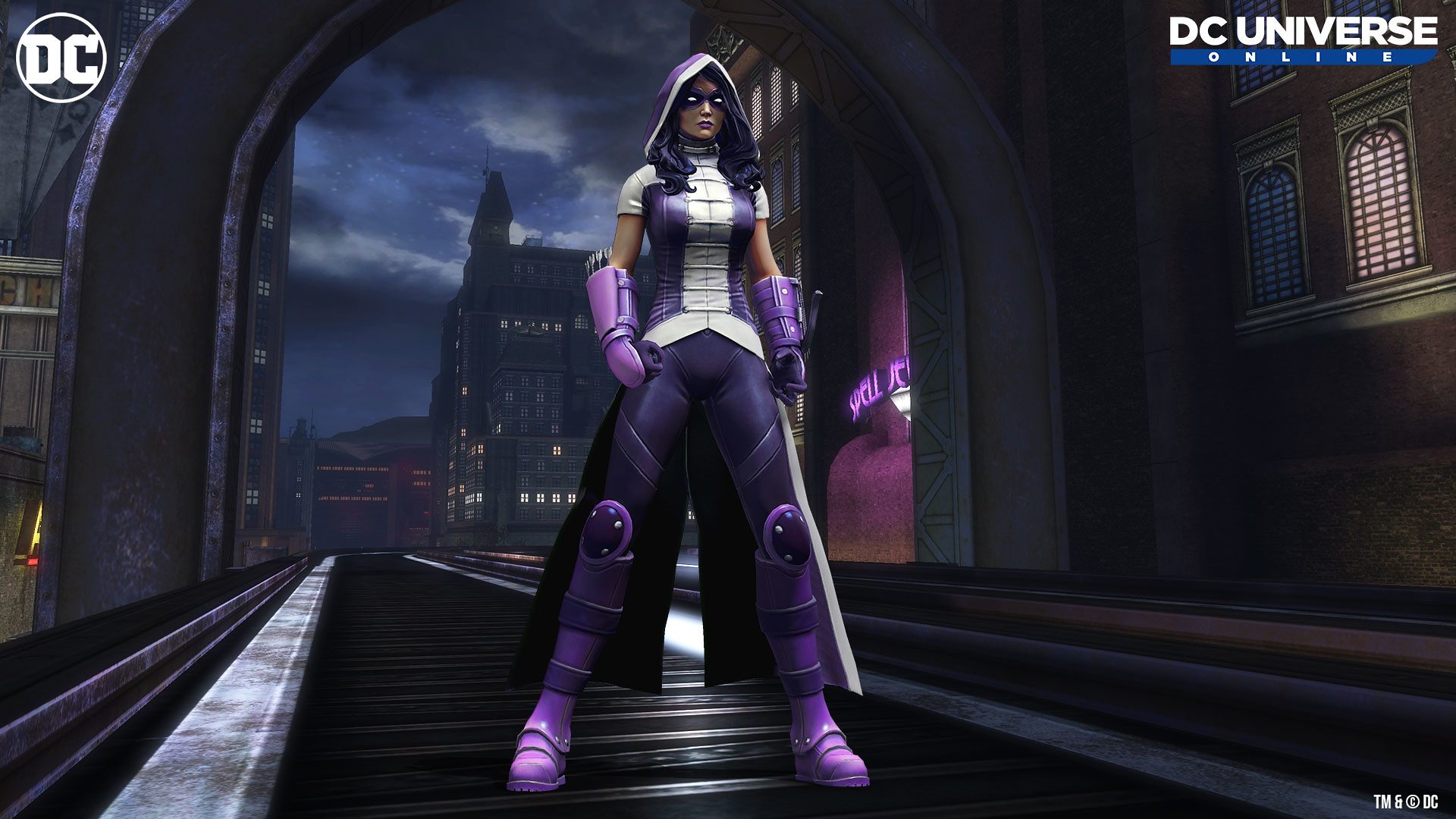 DC Universe Online: Birds of Prey - The Huntress on PS4
