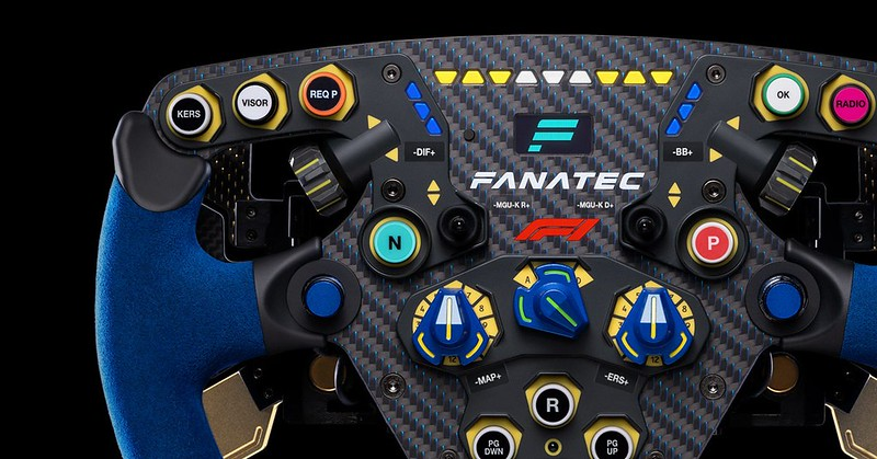 Fanatec Button Caps & Stickers