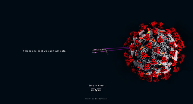 Coronavirus: Stay In Fleet Wallpaper