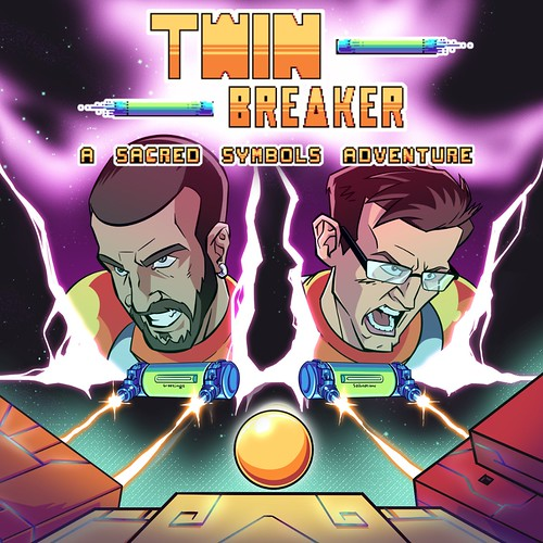 Thumbnail of Twin Breaker: A Sacred Symbols Adventure on PS4