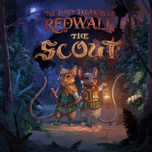 Thumbnail of The Lost Legends of Redwall : The Scout on PS4